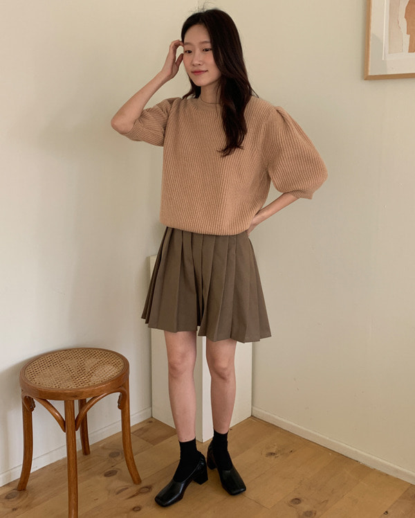 may wool puff knit