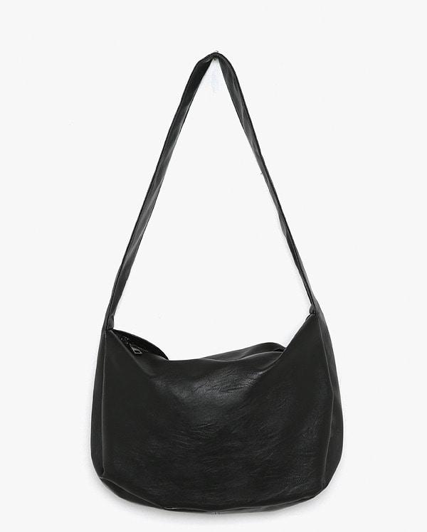 in comfy big shoulder bag