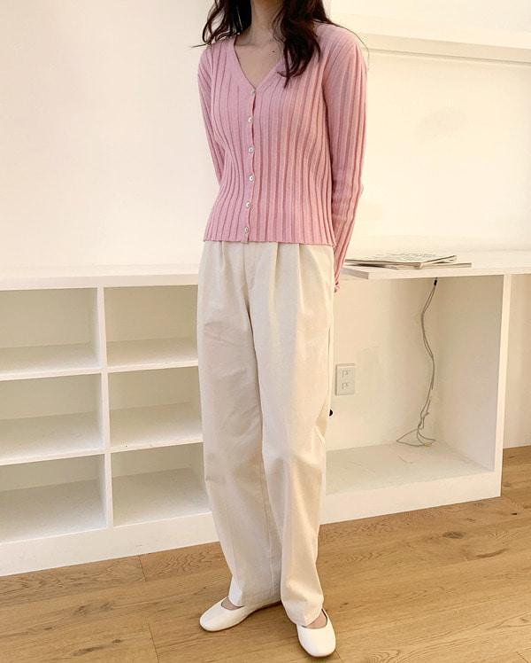 nord pintuck slim fit pants (s, m)