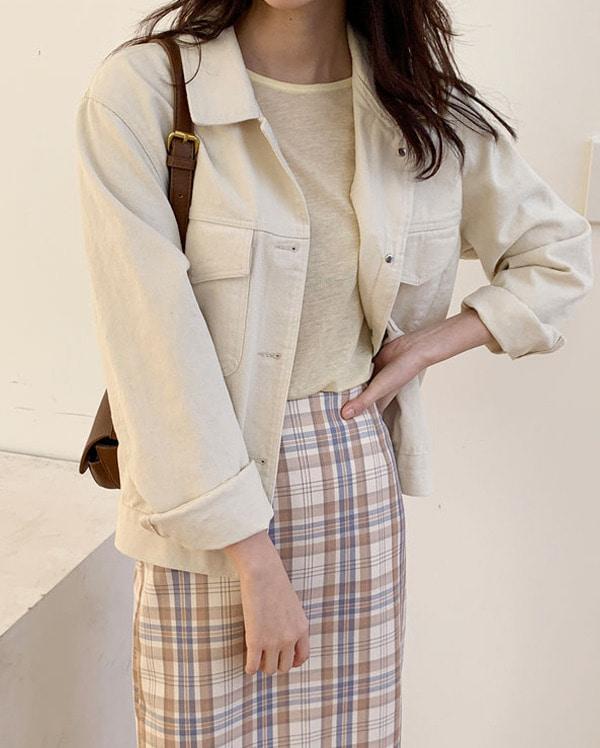 daily mood cotton jacket