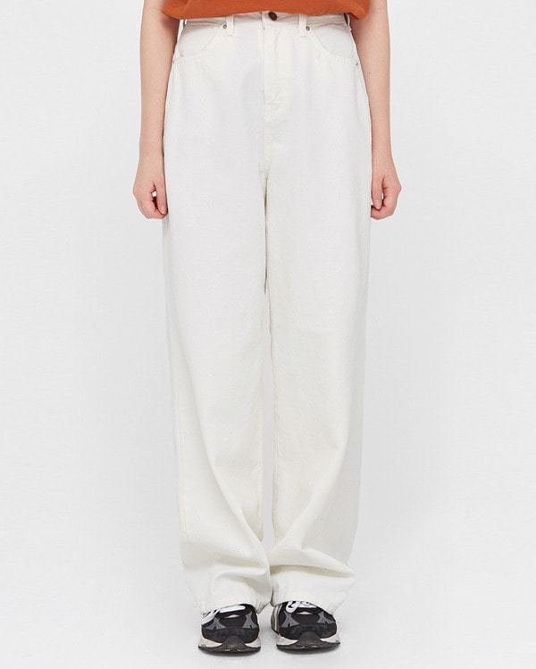 mont wide cotton pants (s, m)