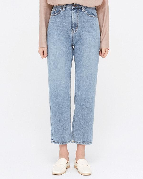 coi bright denim pants (s, m)