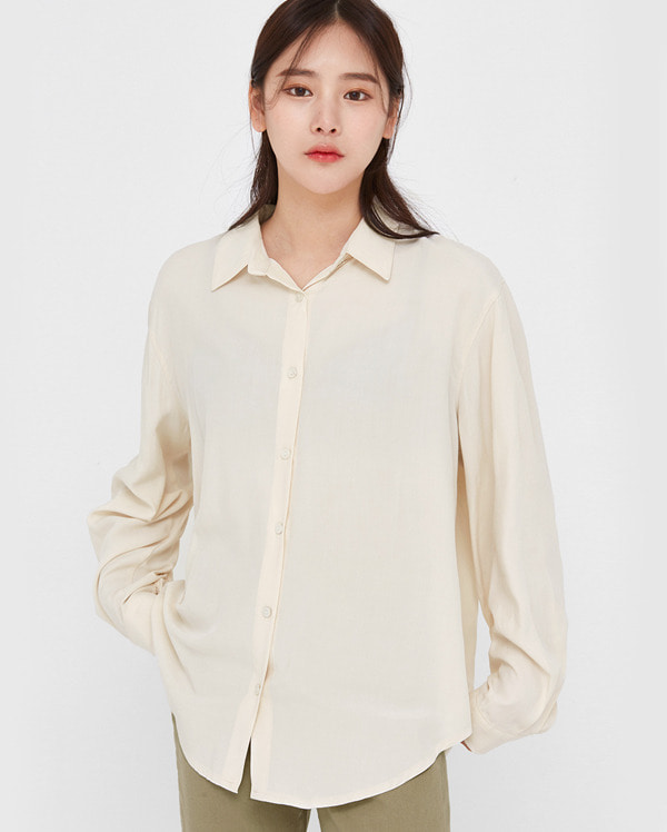in poly basic shirts
