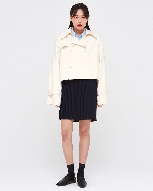dean short trench coat
