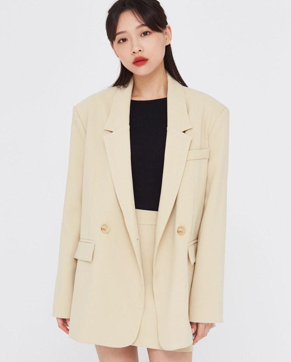 ben over fit set jacket