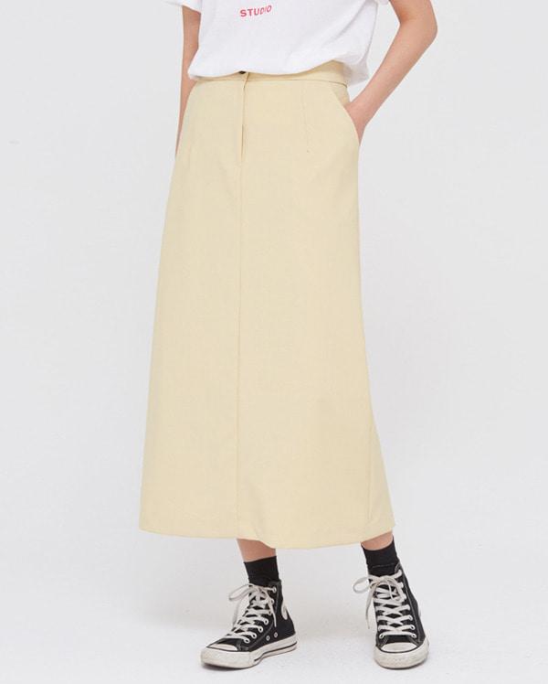 vanilla H-line skirts (s, m)