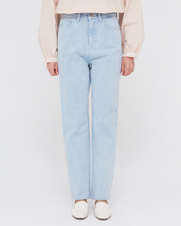 a straight line ice jeans (s, m)