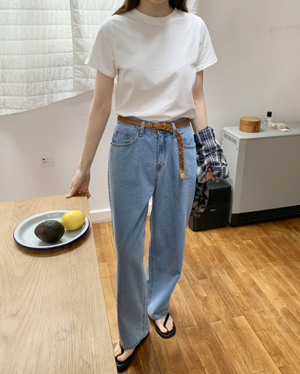 zero denim wide pants