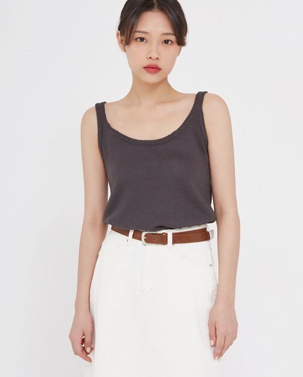 have knit sleeveless