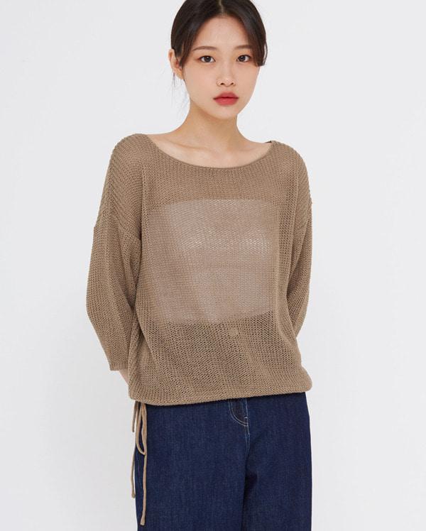 string net knit