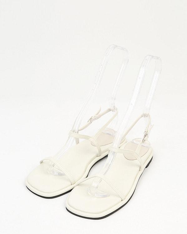 plain strap sandal (230-250)