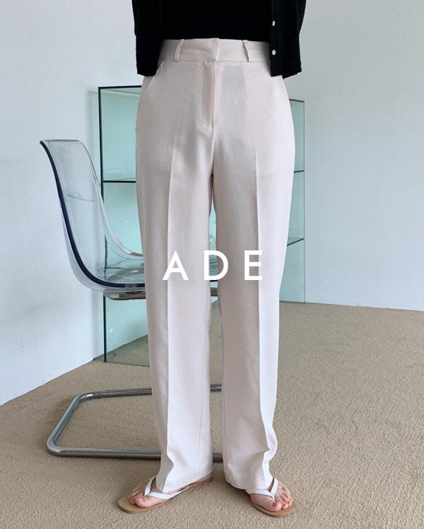 linen cool long slacks (s, m, l)
