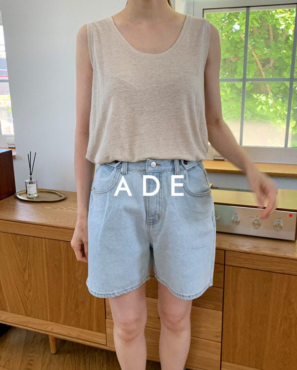 linen standard sleeveless