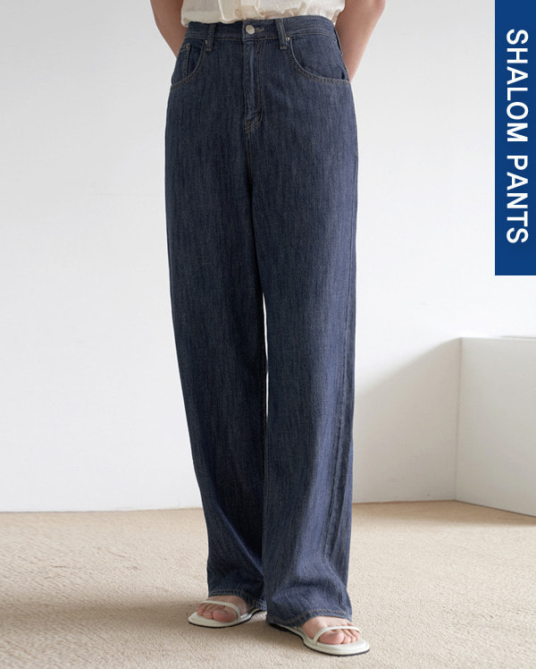 113_linen denim pants (s, m, l)