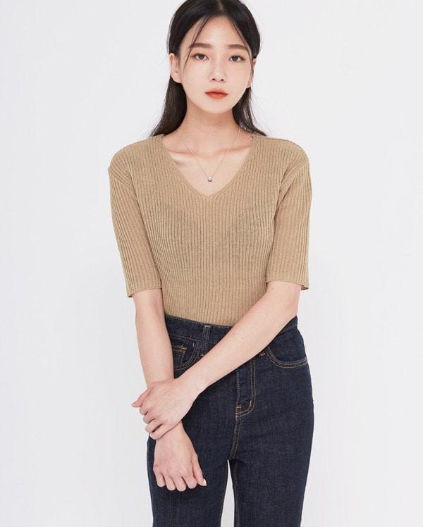 miel summer golgi knit