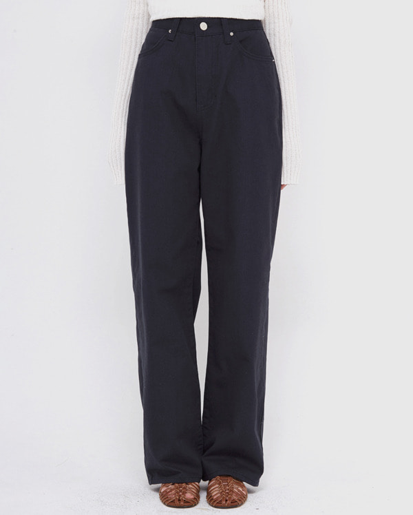 clip cotton wide pants (s, m, l)