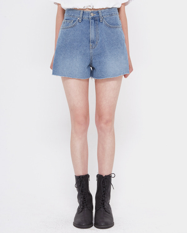 bio short denim pants