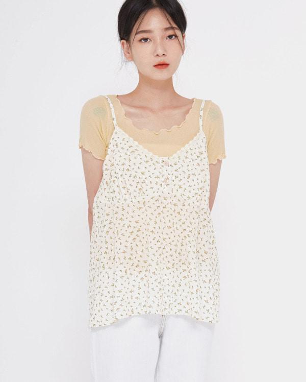 sunny lace sleeveless