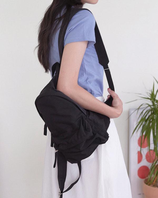 cotton mini backpack