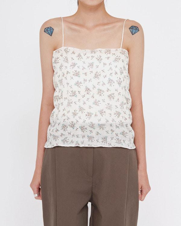 touch flower sleeveless set