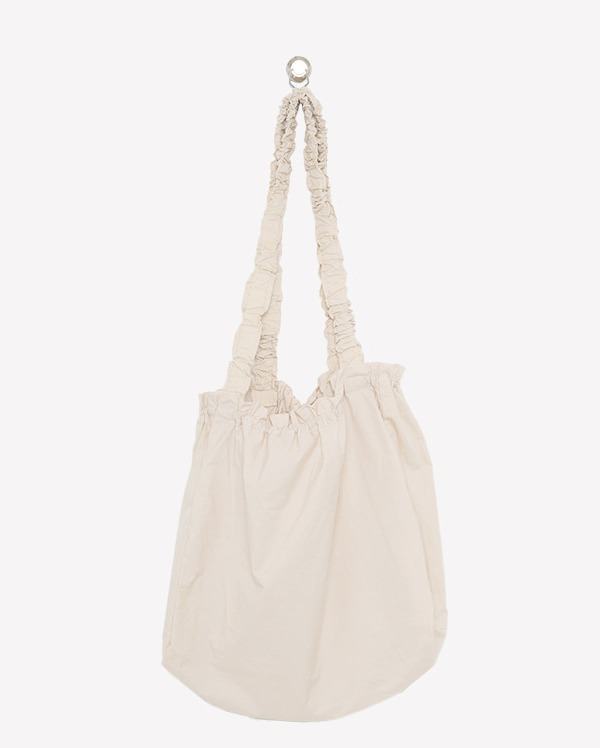 silk shirring eco bag