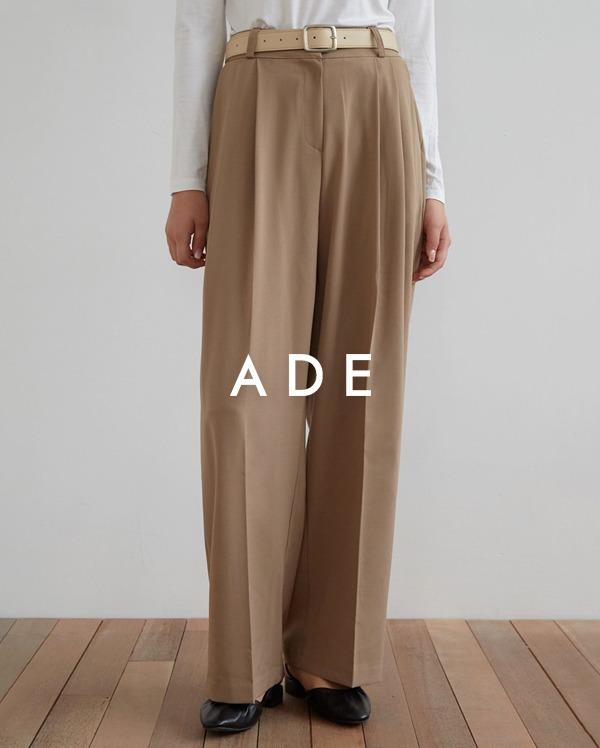 chic mood pintuck slacks (s, m, l)