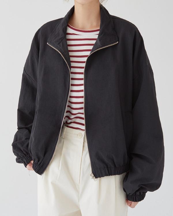 wind zip-up jumper