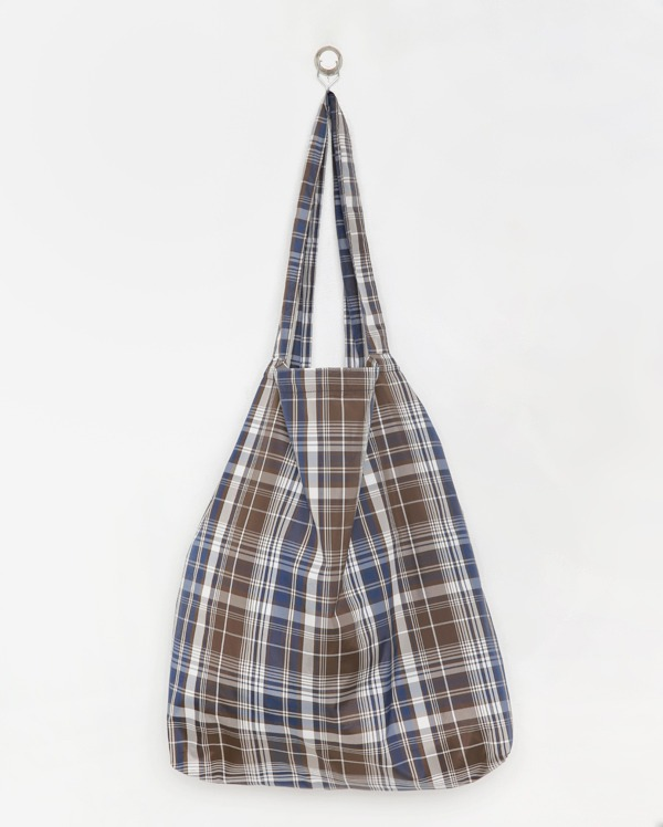 vintage check shoulder bag