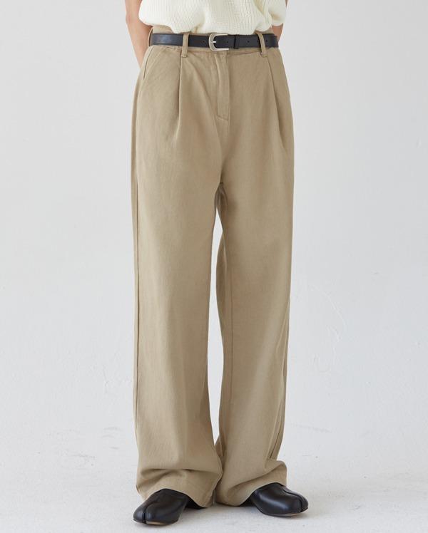 cotton loop detail pants (s,m,l)
