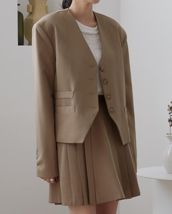 anderson non collar jacket