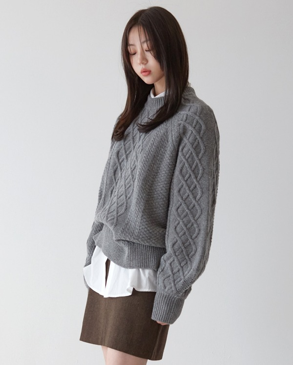 fisherman warm knit