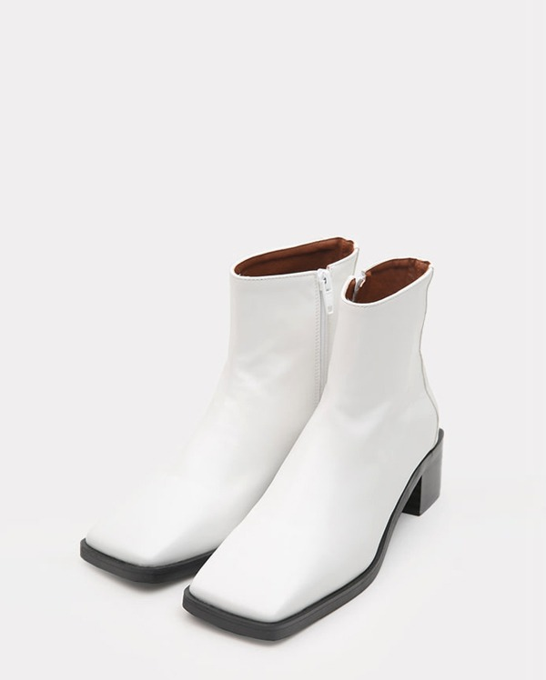 slim square ankle boots (225-250)
