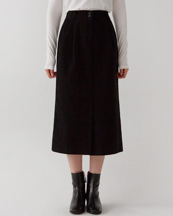 pander napping slit long skirt