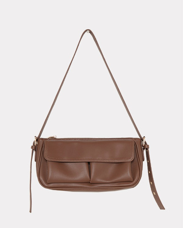 belt pocket leather bag