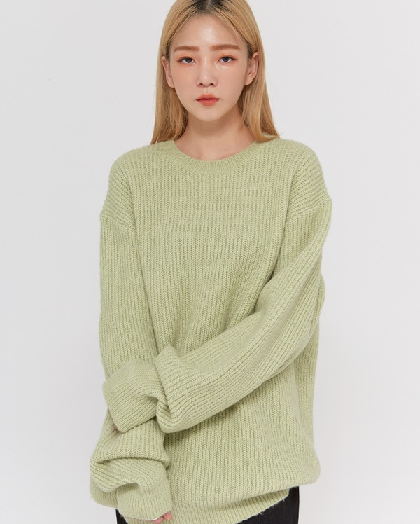 unisex cable round knit