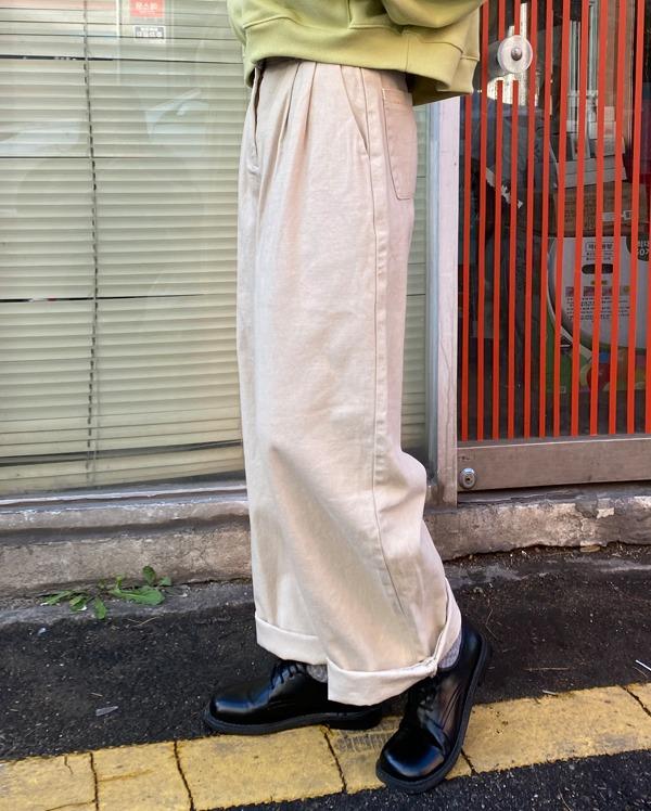 solid side buckle pants (s, m, l)