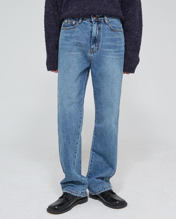 bright lining denim pants (s, m, l)