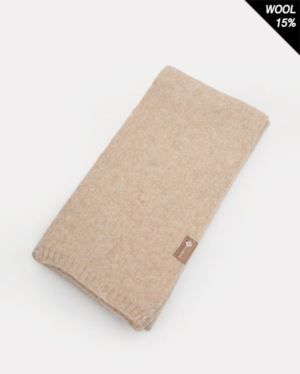 light wool mini muffler