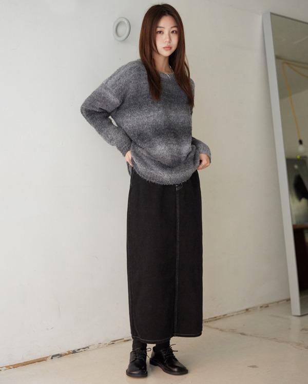soft gradation knit