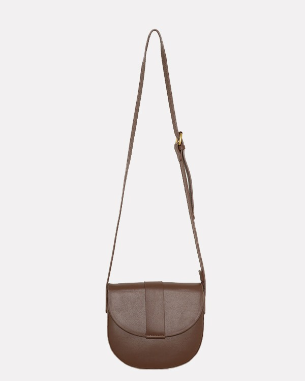 line half moon cross bag