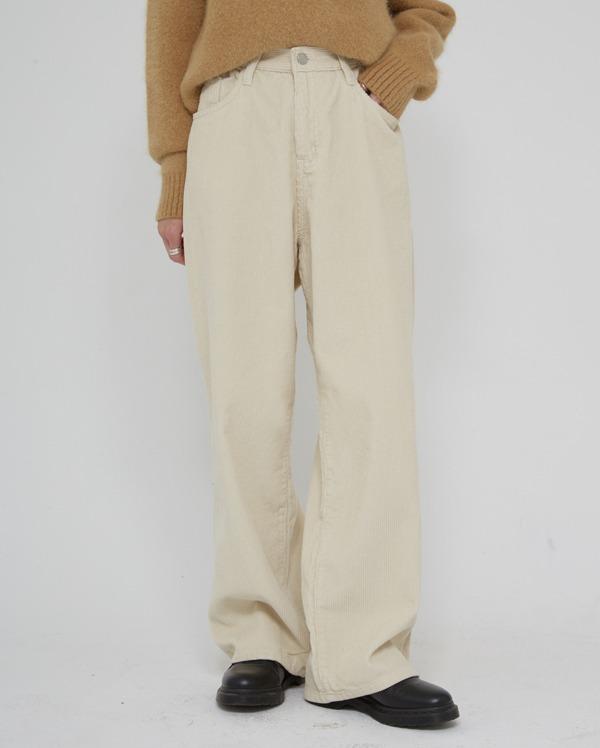 washing bold corduroy pants