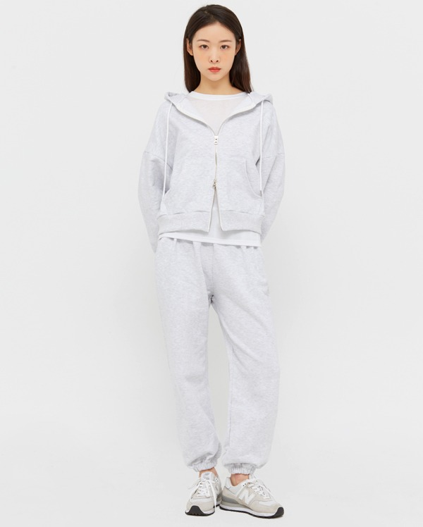 cozy hoody jogger set