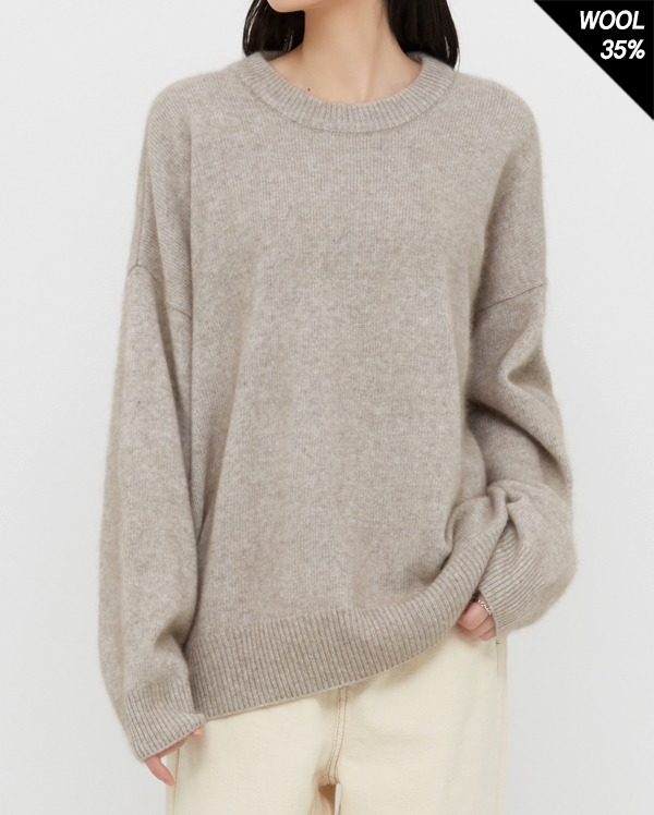 inoff raccoon round knit