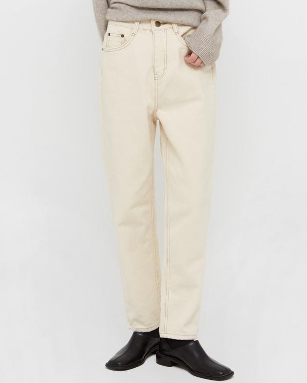 mine straight cotton pants (s, m, l)