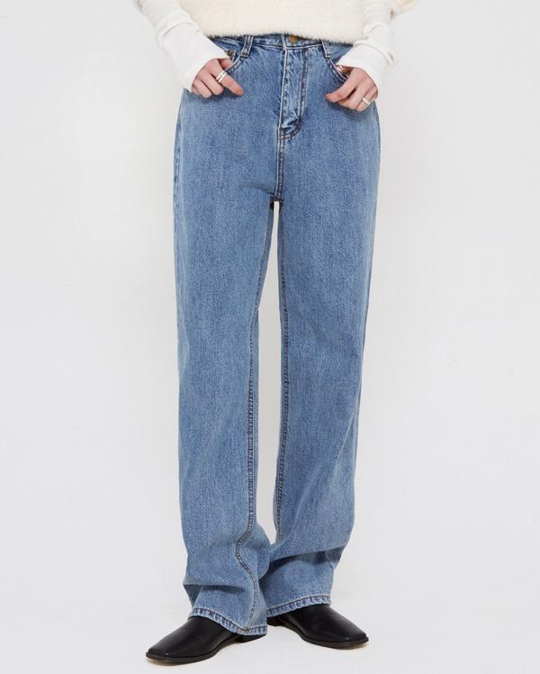 stay blue denim pants (s, m, l)