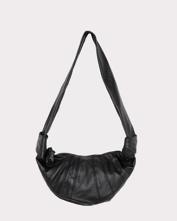 daily croissant shoulder bag