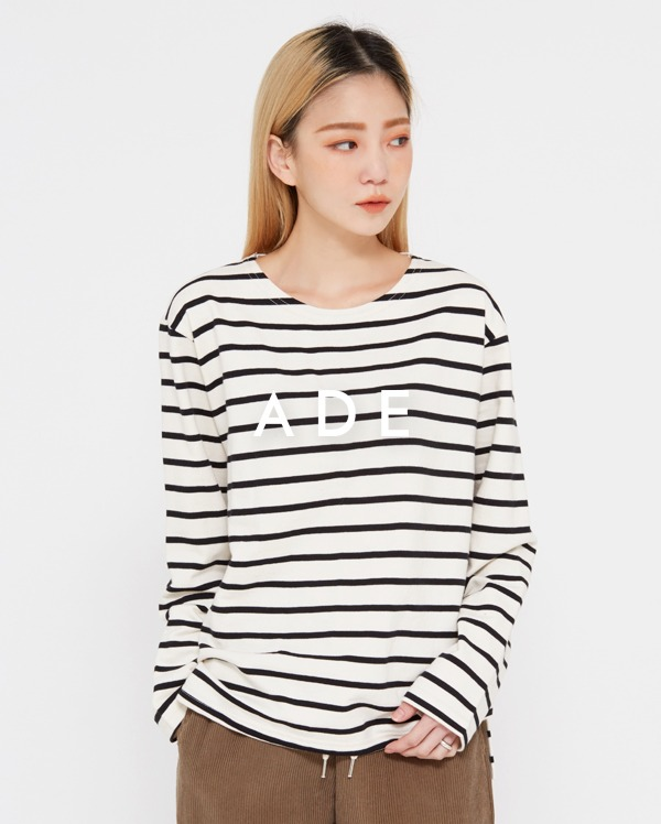 low stripe round T