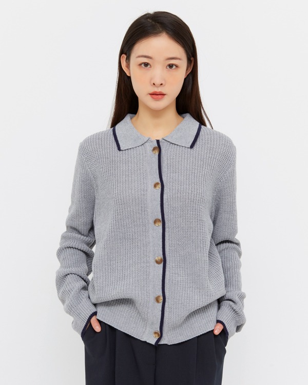 eight hazzi collar knit