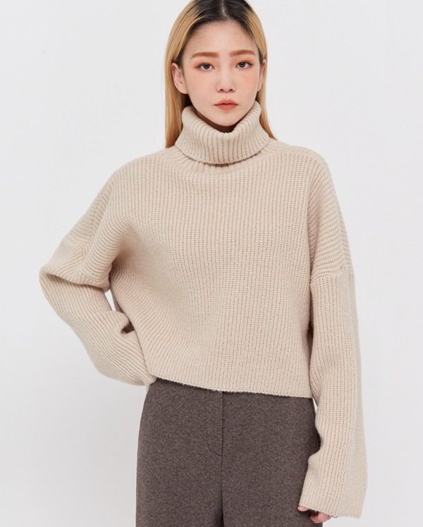 mond hazzi crop knit