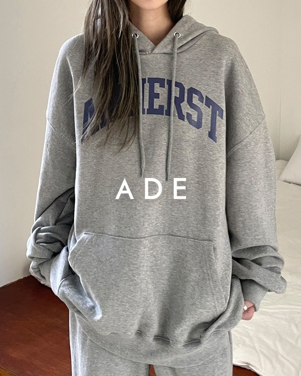 amherst lettering made hood T